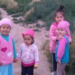 Děti u jezera Issyk Kul