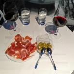 Pršut, olivy a místní víno