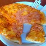 Pizza v bufetu