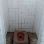 WC na pláži